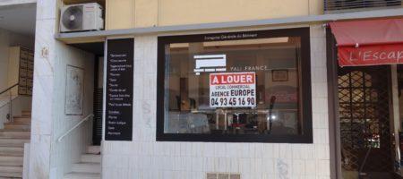 Local Commercial sans Pas de Porte – Le Cannet