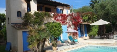 Le charme d'une villa provençale au cœur de Cannes