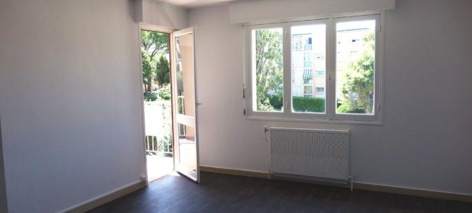 Cannet Olivet, 3/4 pièces traversant, terrasse, dernier étage, cave et parking