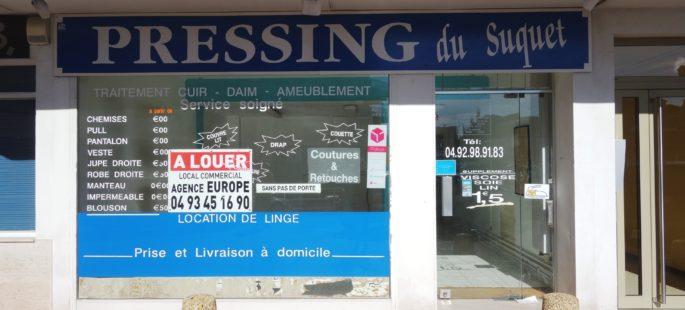 Local Commercial sans Pas de Porte – Cannes Stanislas