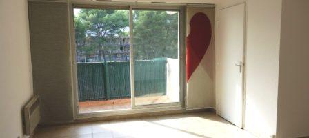 Le Cannet Blanchisserie, Grand studio avec terrasse, parking
