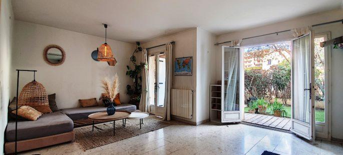 Le Cannet Colombier, maison 4 pièces avec jardin et garage